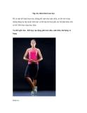 Tập thể dục cho thân hình hoàn hảo
