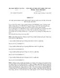 BAN HÀNH 04 QUY CHUẨN KỸ THUẬT QUỐC GIA VỀ PHỤ TÙNG XE MÔ TÔ, XE GẮN MÁY