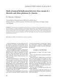 "Báo cáo lâm nghiệp: ""Study of natural hybridization between Alnus incana (L.) Moench. and Alnus glutinosa (L.) Gaertn"""