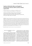 "Báo cáo lâm nghiệp: ""Analysis of herbicide effects on Douglas fir (Pseudotsuga menziesii [Mirb.] Franco) natural regeneration"""