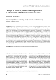 """Báo cáo lâm nghiệp: """"Changes in Austrian pine forest floor properties in relation with altitude in mountainous areas"""""""