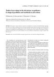 """Báo cáo lâm nghiệp: """"Timber harvesting in the ukrainian carpathians: Ecological problems and methods to solve them"""""""
