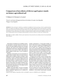 """Báo cáo lâm nghiệp: """"Comparison of mycobiota of diverse aged spruce stands on former agricultural soil"""""""