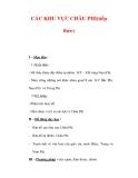 Giáo án Địa Lý 7 : Tên bài dạy : CÁC KHU VỰC CHÂU PHI(tiếp theo)