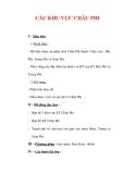 Giáo án Địa Lý 7 : Tên bài dạy : CÁC KHU VỰC CHÂU PHI