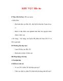 Giáo án Địa Lý 7 : Tên bài dạy : KHU VỰC Bắc âu