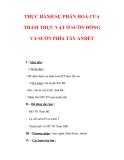 Giáo án Địa Lý 7 : Tên bài dạy : THỰC HÀNH SỰ PHÂN HOÁ CỦA THẢM THỰC VẬT Ở SƯỜN ĐÔNG VÀ SƯỜN PHÍA TÂY ANĐÉT