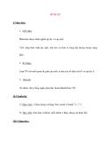 Giáo án Vật Lý lớp 8: ÁP SUẤT