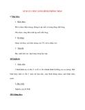 Giáo án Vật Lý lớp 8: ÁP SUẤT CHẤT LỎNG BÌNH THÔNG NHAU
