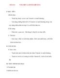 Giáo án Sinh Học lớp 8: BÀI 34 :VITAMIN và MUỐI KHOÁNG