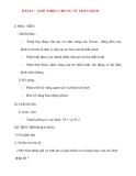 Giáo án Sinh Học lớp 8: BÀI 43 : GIỚI THIỆU CHUNG VỀ THẦN KINH