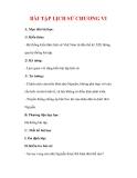 Giáo án Lịch sử lớp 7 : Tên bài dạy : BÀI TẬP LỊCH SỬ CHƯƠNG VI