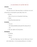 Giáo án Vật Lý lớp 8: CÁC CHẤT ĐƯỢC CẤU TẠO NHƯ THẾ NÀO