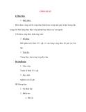 Giáo án Vật Lý lớp 8: CÔNG SUẤT