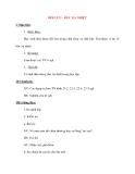 Giáo án Vật Lý lớp 8: ĐỐI LƯU - BỨC XẠ NHIỆT