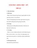 Giáo án Lịch sử lớp 7 : Tên bài dạy : GIÁO DỤC, KHOA HỌC - KỸ THUẬT
