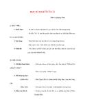 Giáo án Âm Nhạc lớp 8: HỌC HÁT BÀI Hò Ba Lí