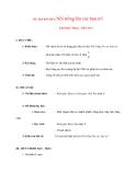 Giáo án Âm Nhạc lớp 8: ÔN TẬP BÀI HÁT: Nổi trống lên các bạn ơi