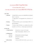 Giáo án Âm Nhạc lớp 8: ÔN TẬP BÀI HÁT Khát Vọng Mùa Xuân