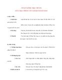 Giáo án Âm Nhạc lớp 8: ÔN TẬP TẬP ĐỌC NHẠC: TĐN SỐ 2