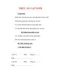 Giáo án Công nghệ lớp 7 : Tên bài dạy : THỨC ĂN VẬT NUÔI