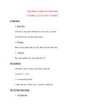 Giáo án Vật Lý lớp 8: Thực Hành và Kiểm Tra Thực Hành NGHIỆM LẠI LỰC ĐẨY ÁCSIMÉT