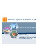 Lập trình web với Java