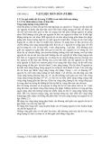 BÀI GIẢNG VẬT LIỆU KỸ THUẬT ĐIỆN – ĐIỆN TỬ - CHƯƠNG 2: VẬT LIỆU BÁN DẪN