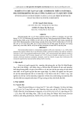 NGHIÊN CỨU CHẾ TẠO VẬT LIỆU COMPOSITE TRÊN CƠ SỞ NHỰA POLYESTER KHÔNG NO GIA CƯỜNG NANOCLAY VÀ SỢI THỦY TINH