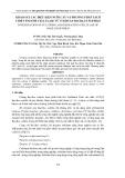 KHẢO SÁT CÁC ĐIỀU KIỆN NUÔI CẤY VÀ PHƯƠNG PHÁP TÁCH CHIẾT ENZYME
