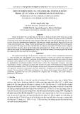 PHÂN TÍCH BIỂU HIỆN CỦA CTB (CHOLERA TOXIN B SUBUNIT) TRONG CÂY CÀ CHU