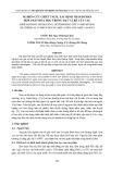 NGHIÊN CỨU CHIẾT TÁCH, XÁC ĐỊNH THÀNH PHẦN HỢP CHẤT HÓA HỌC TRONG HẠT VÀ RỄ CÂY CAU