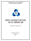 Báo cáo xác suất thống kê - Nguyễn Phước Lộc