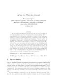 "Báo cáo toán học: ""A van der Waerden Variant"""
