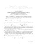 "Báo cáo toán học: ""A DETERMINANT OF THE CHUDNOVSKYS GENERALIZING THE ELLIPTIC FROBENIUS-STICKELBERGER-CAUCHY DETERMINANTAL IDENTITY"""