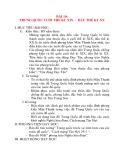 Giáo án Lịch Sử 8: BÀI 10: TRUNG QUỐC CUỐI THẾ KỈ XIX - ĐẦU THẾ KỈ XX I. MỤC TIÊU BÀI HỌC: 1.