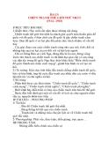 Giáo án Lịch Sử 8: Bài 13: CHIẾN TRANH THẾ GIỚI THỨ NHẤT (1914 –1918)