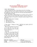 Giáo án Lịch Sử 8: Bài 14 ÔN TẬP LỊCH SỬ THẾ GIỚI CẬN ĐẠI