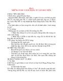 Giáo án Lịch Sử lớp 8: Bài 1: NHỮNG CUỘC CÁCH MẠNG TƯ SẢN ĐẦU TIÊN.