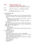 Giáo án Lịch Sử 8: Bài 20:PHONG TRÀO ĐỘC LẬP DÂN TỘC Ở CHÂU Á (1918 – 1939)
