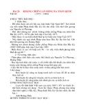 Giáo án Lịch Sử 8: Bài 25::KHÁNG CHIẾN LAN RỘNG RA TOÀN QUỐC ( 1873 – 1884)