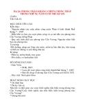 Giáo án Lịch Sử 8: Bài 26: PHONG TRÀO KHÁNG CHIẾN CHỐNG PHÁP TRONG NHỮNG NĂM CUỐI THẾ KỈ XIX