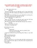Giáo án Lịch Sử lớp 8: Bài 27: KHỞI NGHĨA YÊN THẾ VÀ PHONG TRÀO CHỐNG PHÁP CỦA ĐỒNG BÀO MIỀN NÚI CUỐI THẾ KỶ XIX (1 tiết)