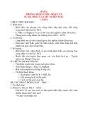 Giáo án Lịch Sử 8: BÀI 4: PHONG TRÀO CÔNG NHÂN VÀ SỰ RA ĐỜI CỦA CHỦ NGHĨA MÁC