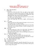 Giáo án Lịch Sử 8: BÀI 7 : PHONG TRÀO CÔNG NHÂN QUỐC TẾ CUỐI THẾ KỈ XIX_ ĐẦU THẾ KỈ XX