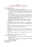 Giáo án Lịch Sử 8: BÀI 9: ẤN ĐỘ THẾ KỈ XVIII- ĐẦU THE KỈ XX I. MỤC TIÊU BÀI HỌC: 1. Kiến thức: