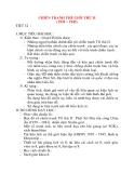Giáo án Lịch Sử lớp 8: CHIẾN TRANH THẾ GIỚI THỨ II (1939 – 1945) (tiết 2)