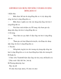 Giáo án Công Dân lớp 8: GÓP PHẦN XÂY DỰNG NẾP SỐNG VĂN HOÁ Ở CỘNG ĐỒNG DÂN CƯ