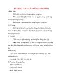 Giáo án Công Dân lớp 8: LAO ĐỘNG TỰ GIÁC VÀ SÁNG TẠO  (Tiết 1)
