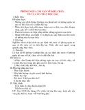 Giáo án Công Dân lớp 8: PHÒNG NGỪA TAI NẠN VŨ KHÍ, CHÁY, NỔ VÀ CÁC CHẤT ĐỘC HẠI